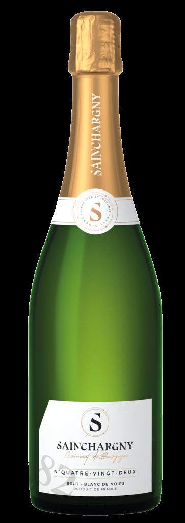 Crémant de Bourgogne cuvee quatre vingt deux sainchargny