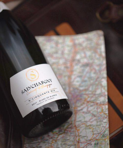 Cinquante six Cremant Bourgogne Sainchargny